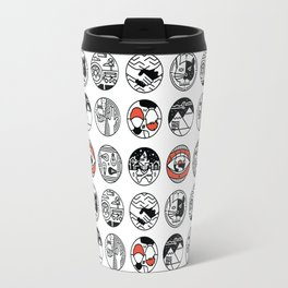 top pattern Travel Mug