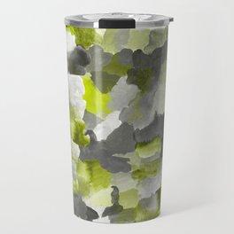 Painterly Gary Green Camouflage Travel Mug