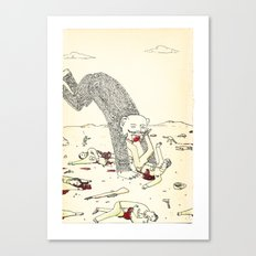Pey Monster Canvas Print