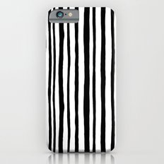 Into the Woods Stripes black Slim Case iPhone 6s