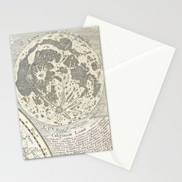 Star map of the Southern Starry Sky Stationery Cards