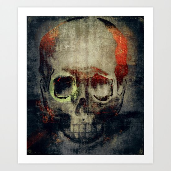 the freak Art Print