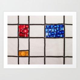 003: De Stijl - 100 Hoopties Art Print