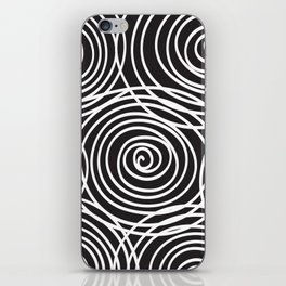 unending swirl iPhone Skin