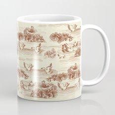Toile de jouy Swan Mug