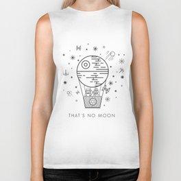 That's No Moon Death Star Hot Air Balloon Storm Tr Biker Tank
