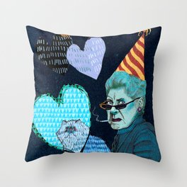 Just the 2 0f Us Throw Pillow