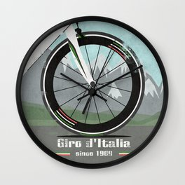 Giro d'Italia Bike Wall Clock