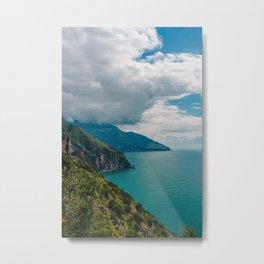 Amalfi Coast Drive XIII Metal Print