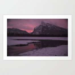 Vermillion Sunrise Three Art Print
