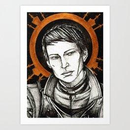 Ladies of Dragon Age: Cassandra Art Print