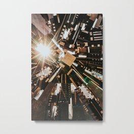 Darmstadt Sonne Metal Print