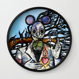 Infinity Land/Opposites Wall Clock