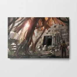 Lost Temple Metal Print