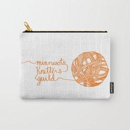 MKG Yarn - Orange Carry-All Pouch