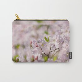 Stem of pink Rhododendron Carry-All Pouch
