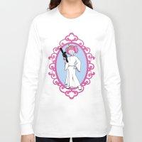 princess bubblegum Long Sleeve T-shirts featuring Princess Bubblegum/Leia by createASAP