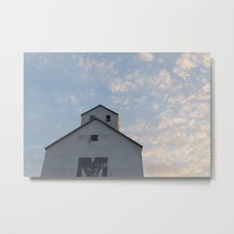 Sturgeon Bay Granary Metal Print