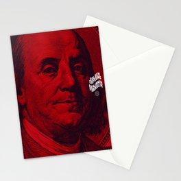 Benjamin Dark (red) Stationery Cards