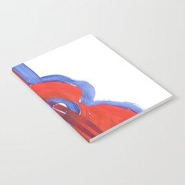 Uke Box Red Paint Notebook