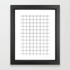 You're a square Framed Art Print