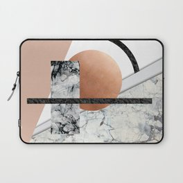 Collage II ( marble, copper, volcanic rock) Laptop Sleeve