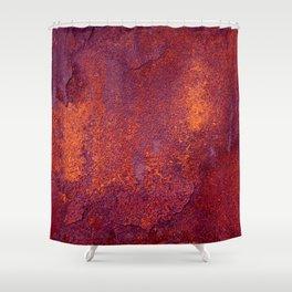 Rust Shower Curtain