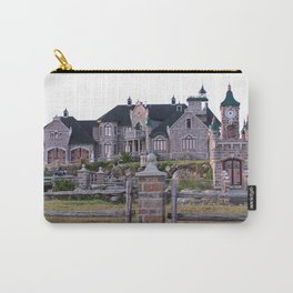 Stone Mansion on the River Carry-All Pouch