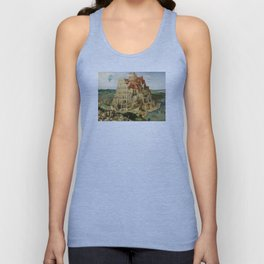 The Tower of Babel 1563 Unisex Tank Top