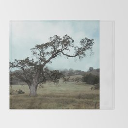 The love for Spooky Trees Throw Blanket
