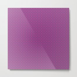 Red & Purple III Metal Print