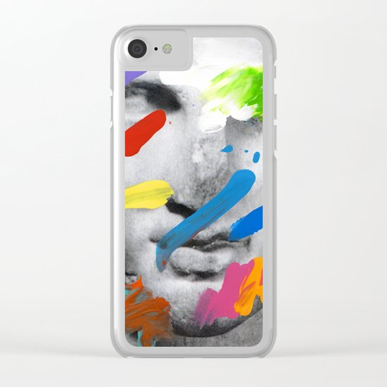 Composition 534 Clear iPhone Case