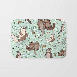 Sea Otters Bath Mat