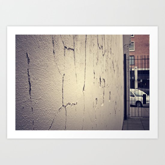 Alley View Art Print