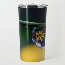 tripple yellow petals Travel Mug