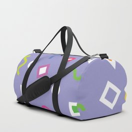 Purple Play Duffle Bag