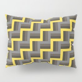 Plus Five Volts - Geometric Repeat Pattern Pillow Sham
