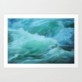 Ocean Waves Art Print