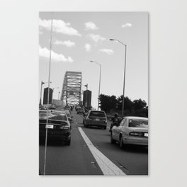 we'll get to that bridge when we cross it Canvas Print