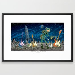 In a Locked Room on the Moon Framed Art Print