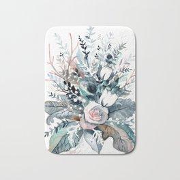 Frostflowers Bath Mat