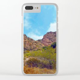 Rugged Trail Clear iPhone Case