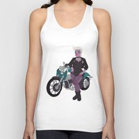 ursula Tank Tops featuring Ursula by Dixie Leota