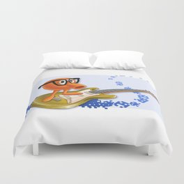 80z All Stars Q*Bert Duvet Cover