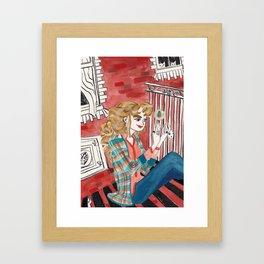 Urban Witch: Earth Framed Art Print