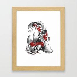M&m Designs - Koi Fish Framed Art Print