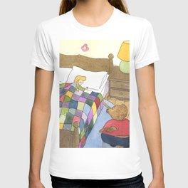 Goldilocks Caught Sleeping T-shirt