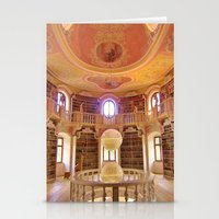 library Stationery Cards featuring Library by howardismycat