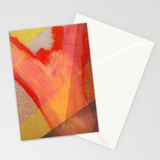 Orange flow Stationery Cards