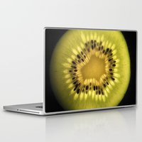 kiwi Laptop & iPad Skins featuring Kiwi by eduardofajardo